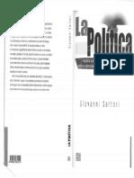 La Política. Sartori.
