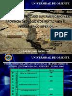 Presentac Precambr(2018)-Esc. de Guayana - Prov. Imataca 2015