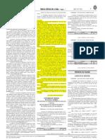Publicação Dou - Fadisc