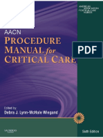 AACN Procedure Manual for Critical Care 6e