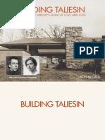 Building Taliesin. Frank Lloyd (...) (Ron McCrea)[1]