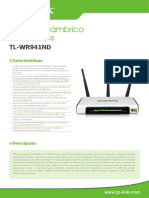 Router Tl-wr941nd