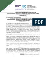 Acta Audiencia de Conciliacion Cotaxi