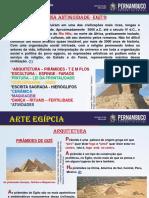 Arte Egípcia Arquitetura e Escultura