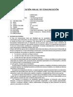 PLANIFICACION ANUAL SECUNDARIA COMUN.  2019 -3° Sec. Atoche