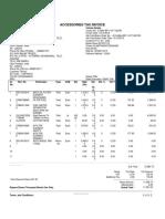 Accessories Invoice VAT