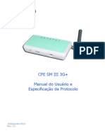 Manual Modem 3g CPE SM II 3g+