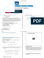 derivacion logartimica