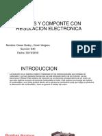 Bombas y Componte Con Regulacion Electronica