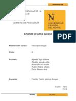Informe de Caso Clínico_ Neuropsicología_Alcalde Agreda Avalos Amaya Zafra