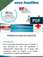 Primeros Auxilios 2019 Ppt