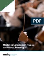 Maestría Composicion Nuevas Tecnologias