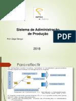 Aula 1. Sistema de Administração de Produção Gpo II. Actualizado