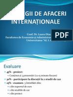 Strategii de Afaceri Internationale