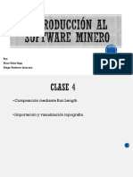Introducción Al Software Minero - Clase 4