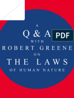A Q&A With Robert Greene on _The Laws of Human Nature