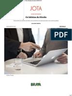 Os Lobistas Do Direito - JOTA Info