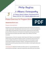 Pilates Exercises for Pregnant Women.pdf