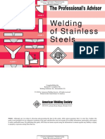 AWS - PASS Pocket Series - The Professional's Advisor - Welding of Stainless Steels - Campbell 1999