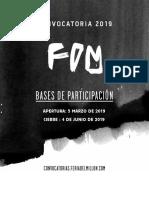 Convocatoria Bogotá 2019