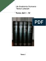 Tratado de Anatomia Humana Completo PT BR