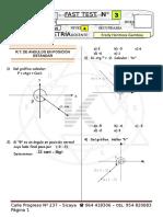 Fast Test n 03 Mayo Trigonometría Nivel 4 2019