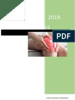 Informe de artrosis