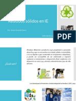 Residuos Sólidos en IE