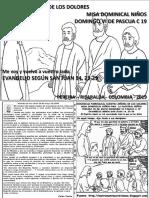 VÍDEO HOJITA EVANGELIO NIÑOS DOMINGO VI PASCUA C 19