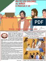 VÍDEO HOJITA EVANGELIO NIÑOS DOMINGO VI PASCUA C 19 COLOR