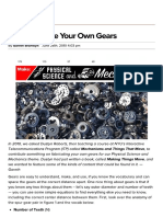Learn How to Easily Fabricate Your Own Gears _ Make