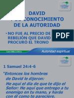 04 David y Su Conocimiento de La Autoridad