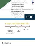 Espectrofotometria UV Visible Exposicion