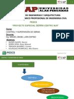 Proyecto Especial Sierra Centro sur