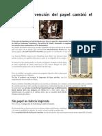 4to. Bach. En Turismo Cómo la invención del papel cambió el mundo.docx