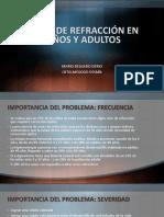 PRESENTACION VICIOS DE REFRACCION ADULTOS