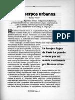 Los Cuerpos Urbanos Eliseo Verón