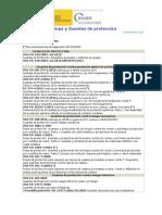 Normas Técnicas Ropa Guantes Protección - InSSBT 2018