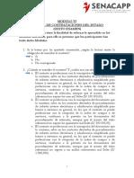 Modulo Vi Examen Contrataciones Del Estado