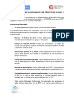 Instructivo Diligenciamiento Reporte de Glosas y Devoluciones Marzo 2019