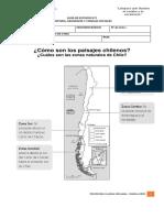 Guía de estudio Historia Zonas de Chile