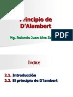 Principio de D'Alambert
