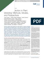 Genomic Selection in Plant Breeding Methods Models