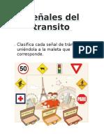 Ficha Señales Del Transito Viernes 24 de Mayo