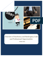 Overview of Bankruptcy and Insolvency Code