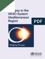 Epilepsy in Thewho Eastern Med Region