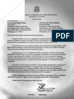 Ben Carson letter