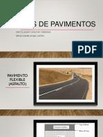 Tipos de Pavimentos Encontrados en Las Vias de Colombia