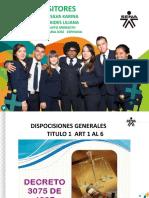 Exposicion Dia Lunes Del Decreto