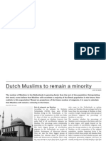 Dutch Muslims to Remain Minority